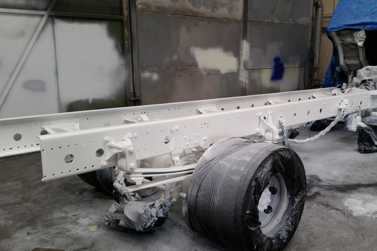 lorry chasis refurbishment