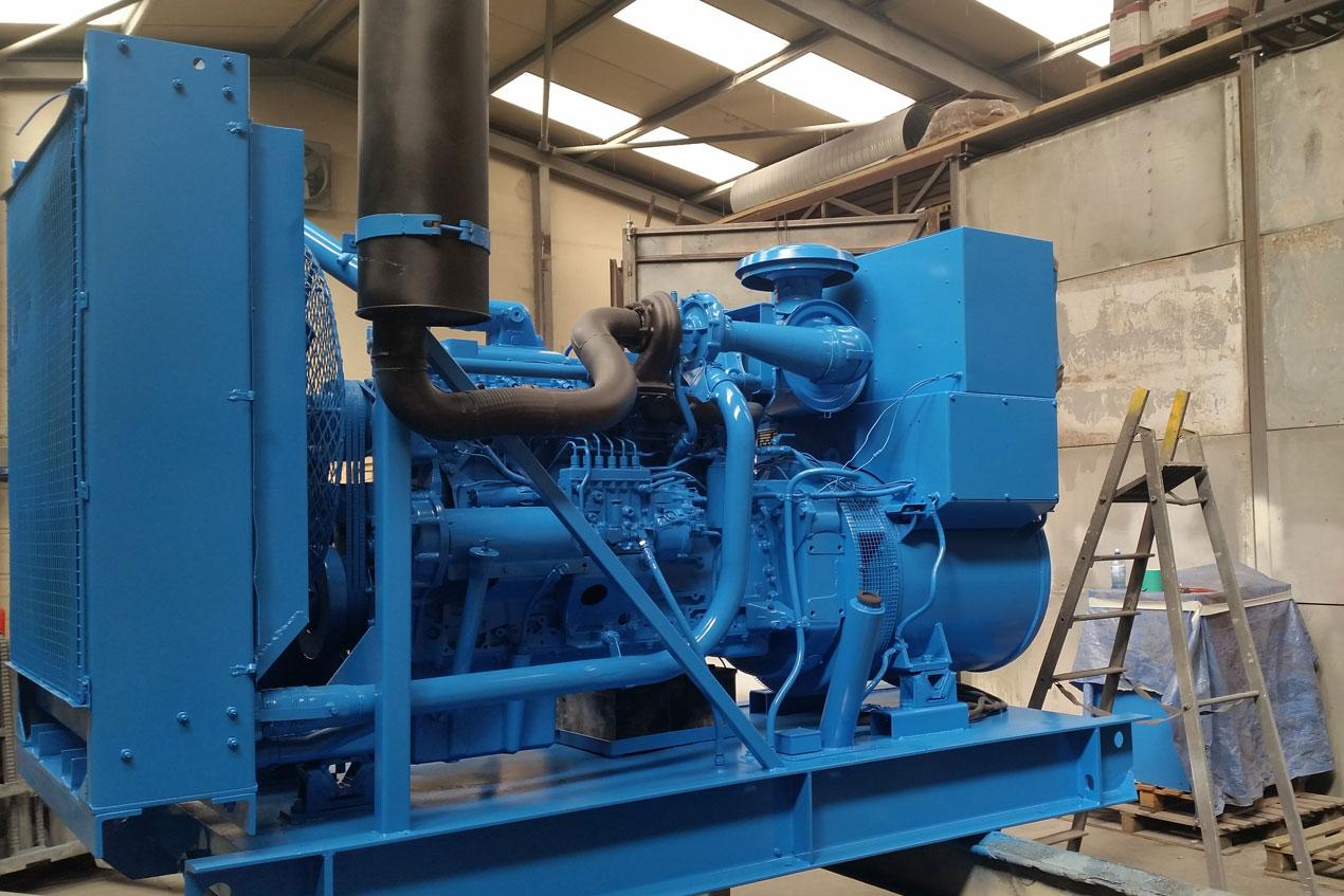 Generator refurbishment