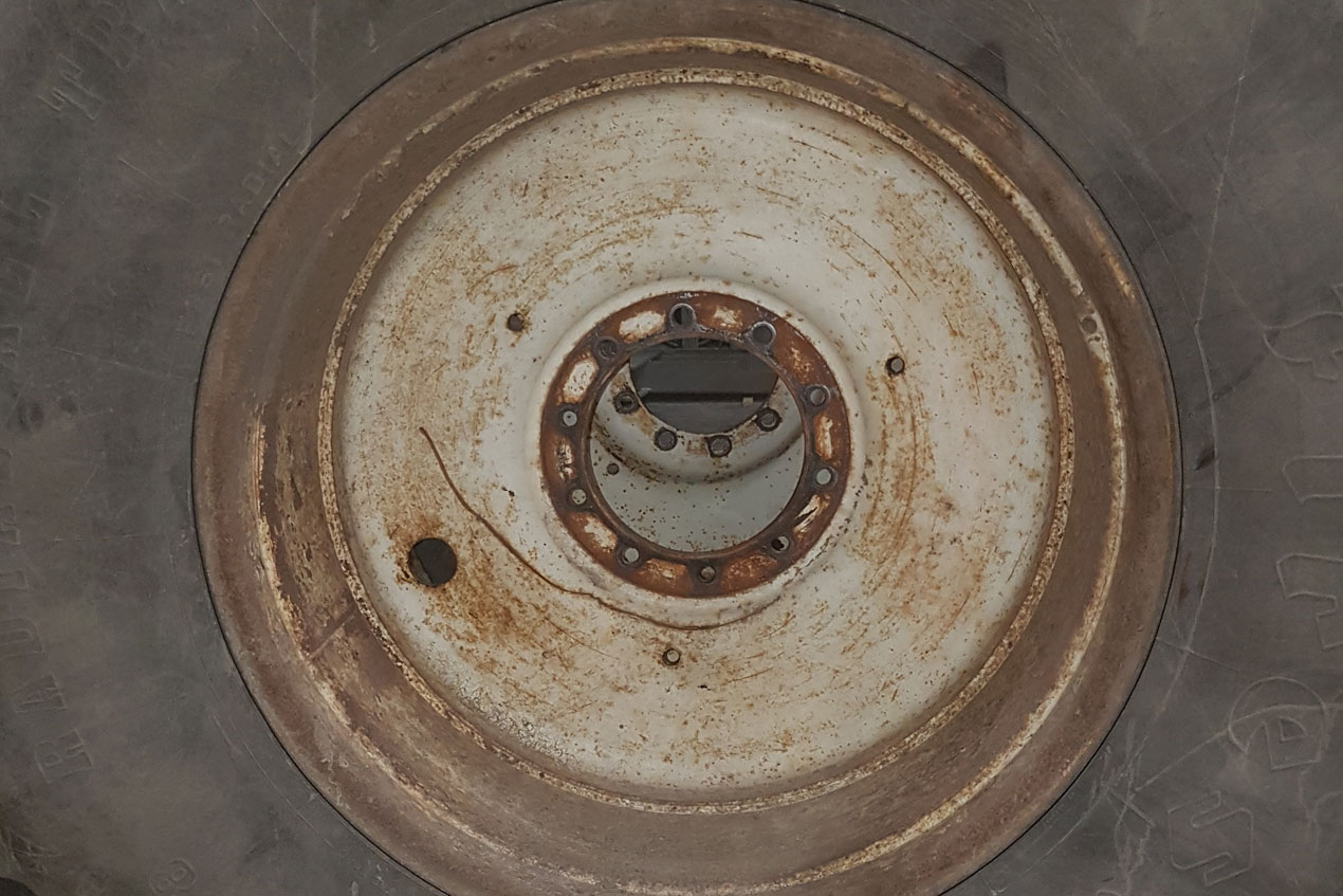 Tractor Wheels Before