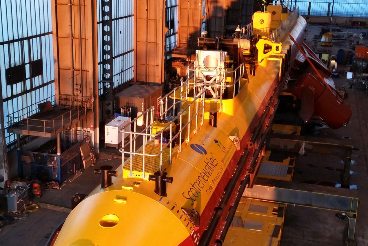Tidal Power Marine coatings