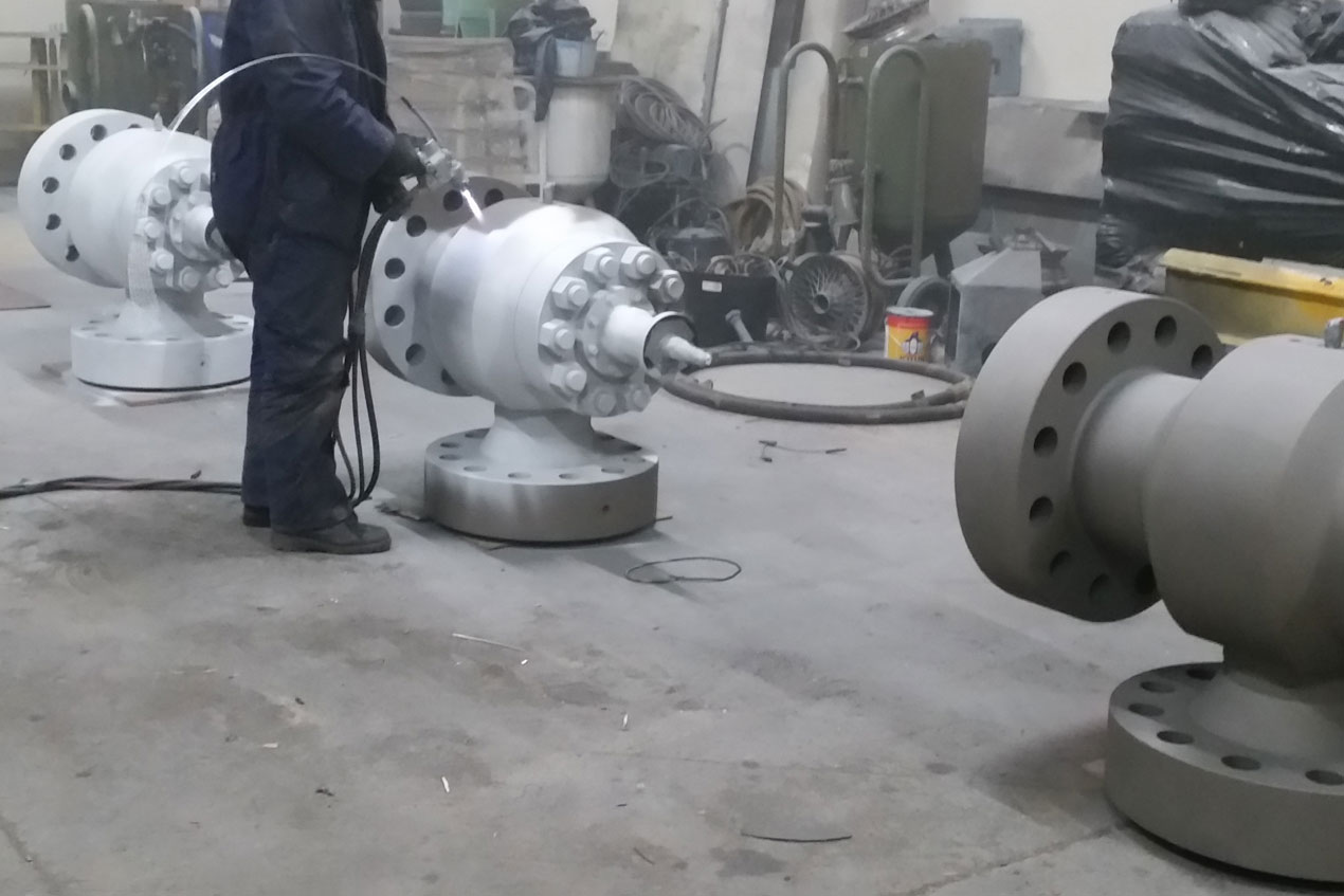 Metal Spraying Process