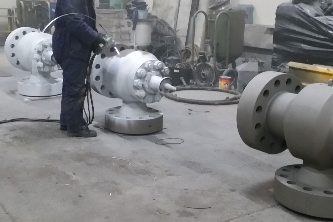 Metal Spraying Process