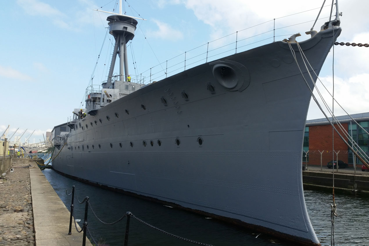 HMS Caroline Refurbishment