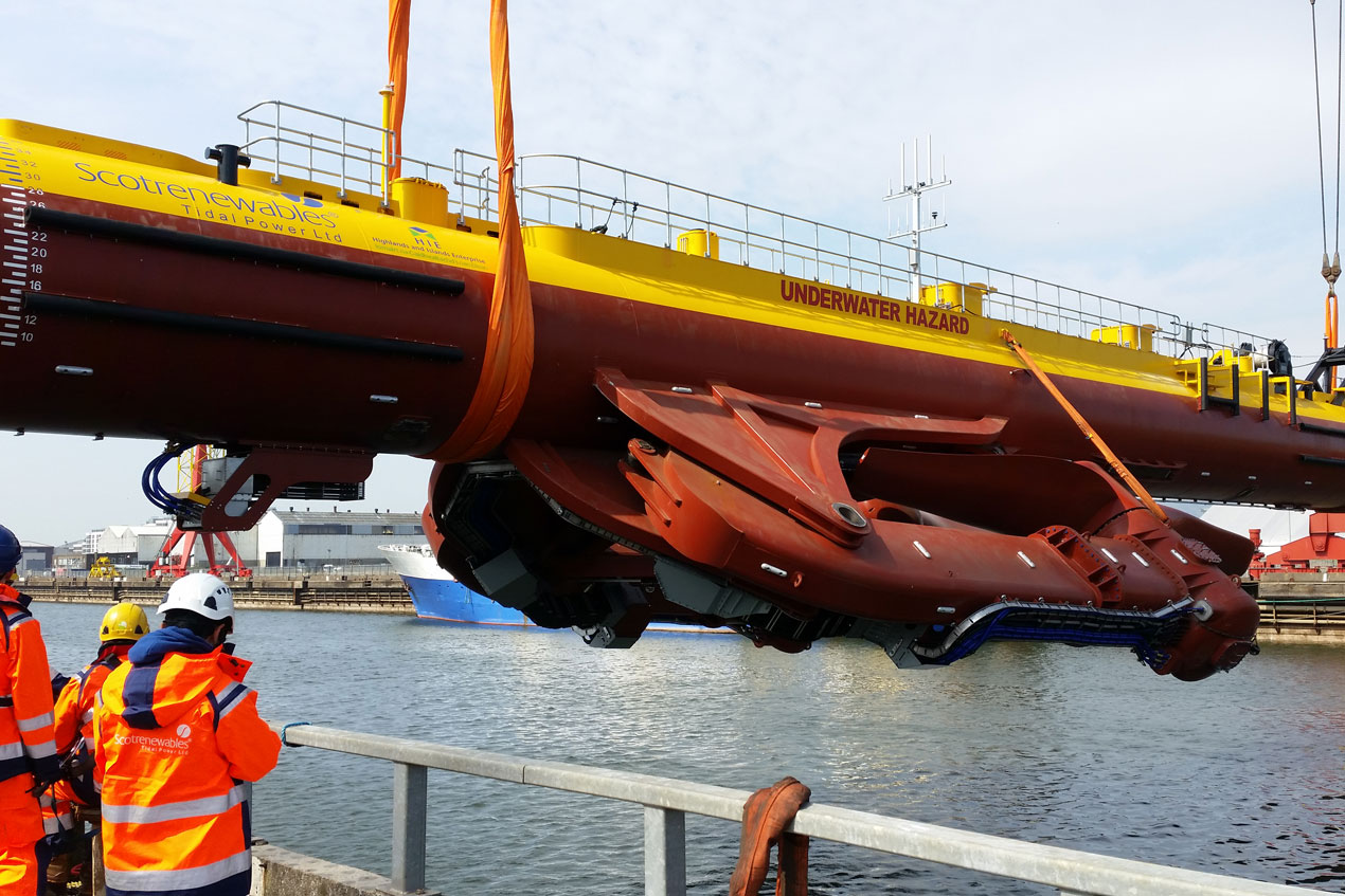 Tidal Power Marine Coatings