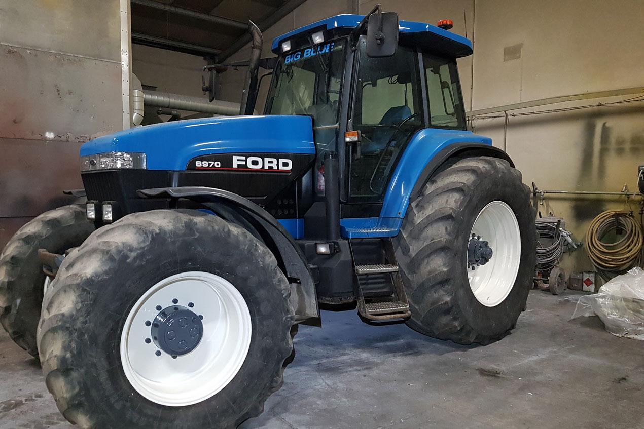 Tractor refurbishment