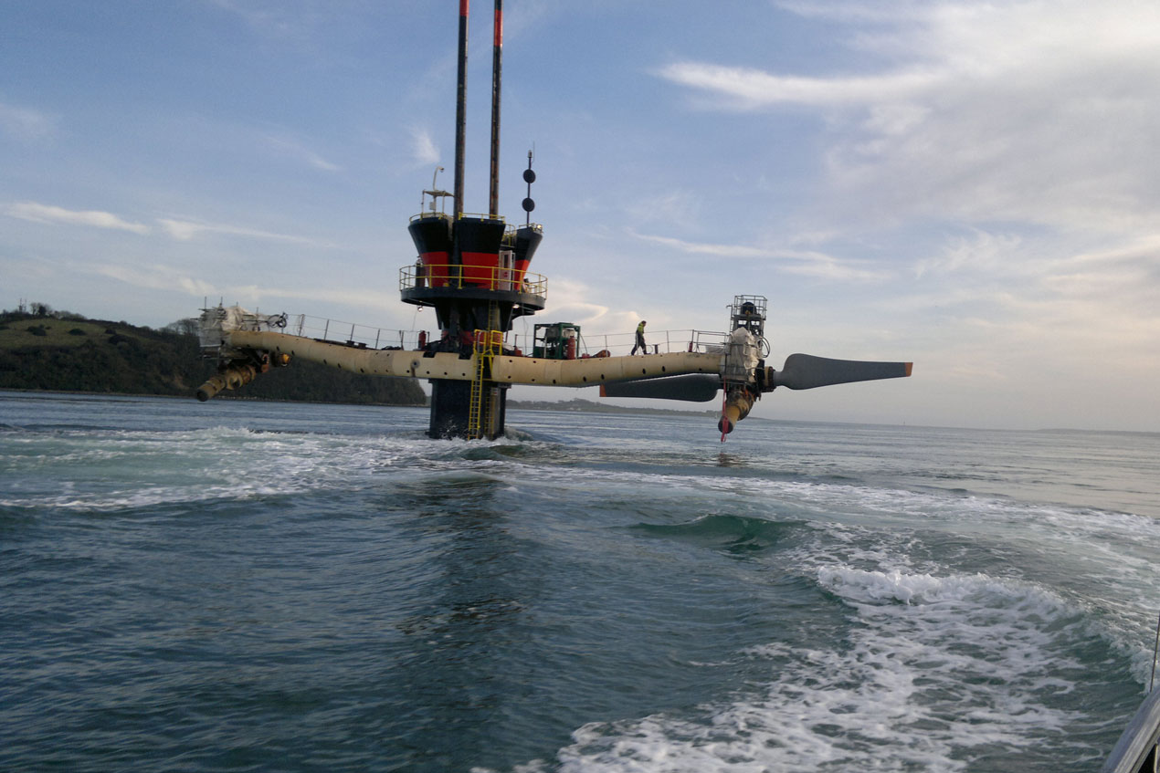 Tidal power painting services